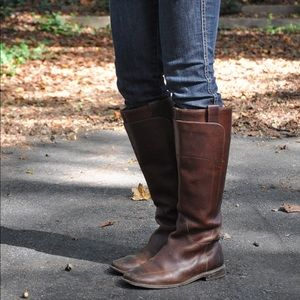 Frye Paige Tall Knee High Leather Riding Boot 10